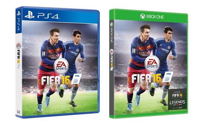 FIFA 16 divulga capa nacional com Oscar ao lado de Messi  a6ae32954cef6