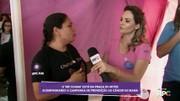 Outubro Rosa: 'Me Chama' acompanha campanha na Praça do Mitre