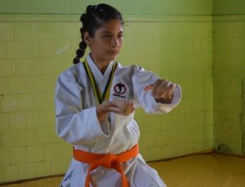 Monã e Manuela no treino (Foto: Divulgação/ Michael Douglas)