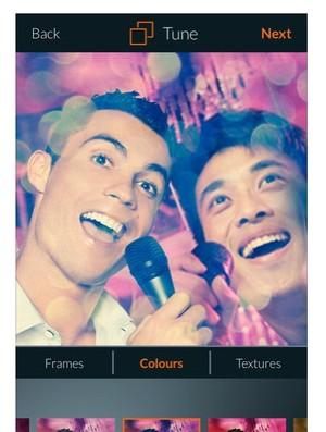 Cristiano Ronaldo lança aplicativo de selfie