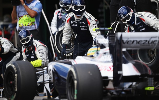 bruno senna williams gp da alemanha (Foto: Agência Getty Images)