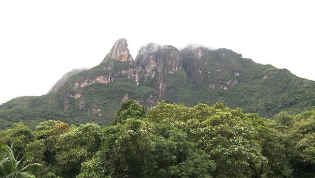 Pico Marumbí (Foto: Reprodução/RPC)