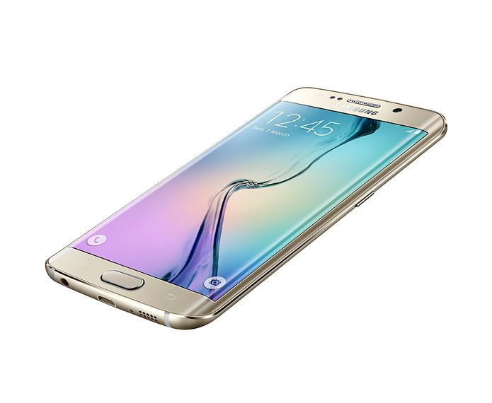 Este é o novíssimo Galaxy S6 Edge (Foto: Divulgação)