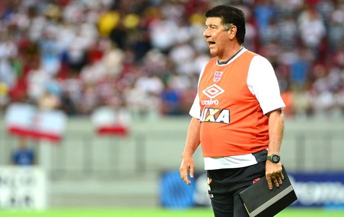 Joel Santana, Santa Cruz X Vasco (Foto: Chico Peixoto / Agência estado)