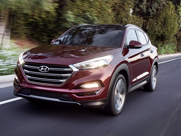 Novo Hyundai Tucson foi considerado aceitável apenas na versão topo de linha (Foto: Morgan Segal/Hyundai Motor America via AP)