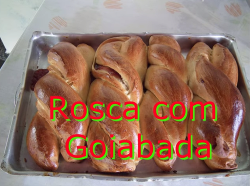 Rosca com Goiabada