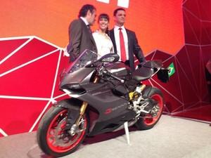 Ducati Senna moto (Foto: Rafael Miotto/G1)