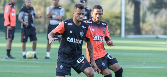 Rafael Carioca em treino do Atlético-MG (Foto: Bruno Cantini/Atlético)