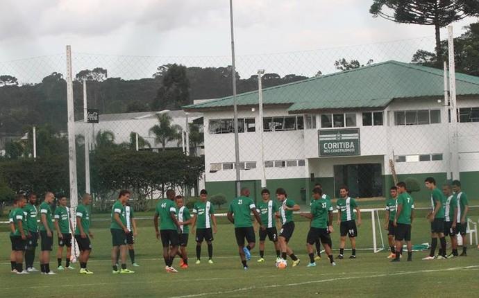 Treino do Coritiba (Foto: Divulgação/ Site oficial Coritiba)