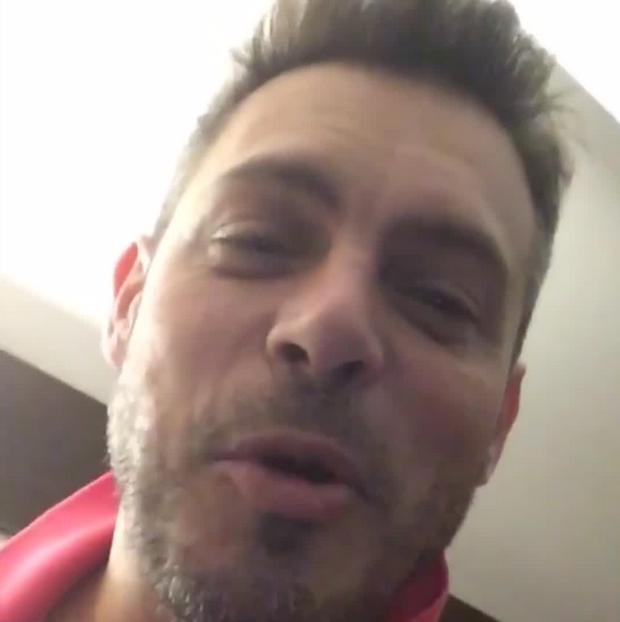 Luigi Baricelli anuncia que é avô (Foto: Reprodução/Instagram)