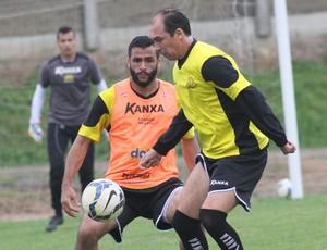 Ronaldo Alves Paulo Baier Criciúma (Foto: Fernando Ribeiro / Criciúma EC)