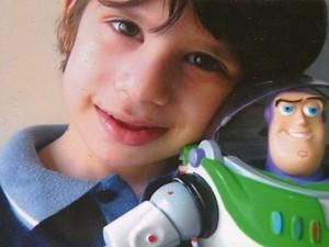 Noah Alexandre Palermo morreu em junho na Santa Casa de São Carlos (Foto: Reprodução/EPTV)
