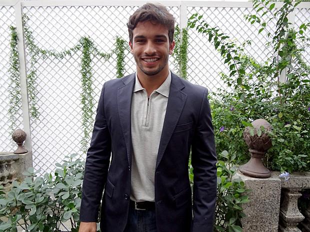 Bruno Bevan, de 23 anos, é modelo e ator (Foto: Malhação / TV Globo)