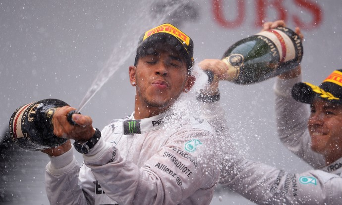 hamilton  gp china fórmula 1 (Foto: Getty Images)