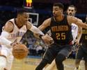 Westbrook marca 46 pontos, mas não evita derrota para o Atlanta Hawks