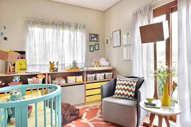 10 quartos de bebês que fogem do tradicional azul e rosa  ~ Quarto Safari Rosa