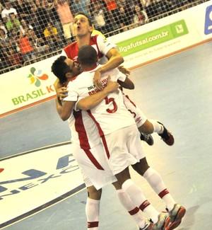 Sorocaba x Umuarama, Liga Nacional de Futsal, LNF (Foto: Divulgação / Futsal Brasil Kirin)