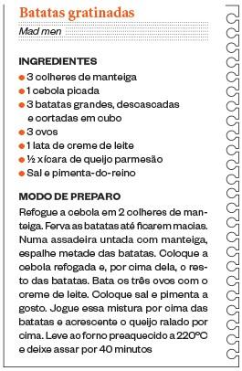 Batatas gratinadas (Foto: Divulgação)