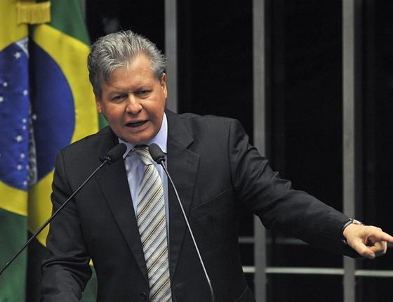 O prefeito de Manaus, Arthur Virgílio, em foto de 2009, quando era senador (Foto: Fabio Rodrigues Pozzebom/Agência Brasil)