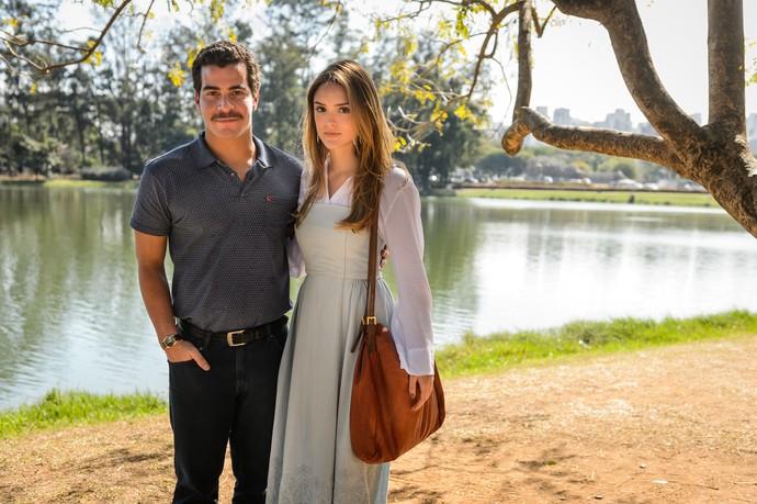 Tião se casa com Helô (Foto: Ramon Vasconcelos / TV Globo)