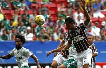 No retorno de Jesus, Palmeiras vence Flu em Brasília e se isola na liderança