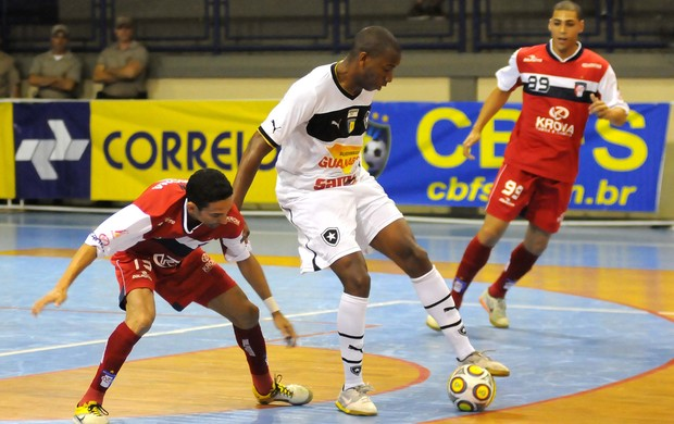 Futsal Botafogo x Joinville (Foto: Luciano Bergamaschi / CBFS)