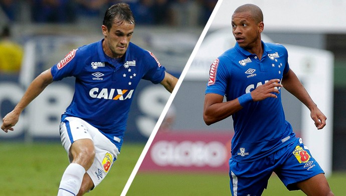Lucas e Edimar ganharam a confiança de Mano e a vaga de titulares (Foto: GloboEsporte.com/MG)
