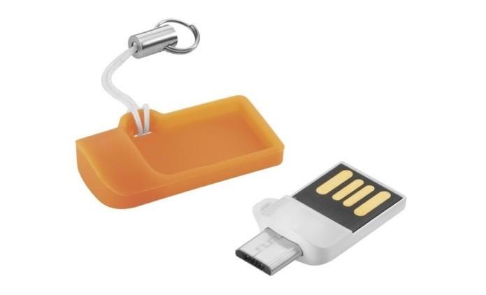 Pen drive para expandir o armazenamento do smartphone (Foto: Divulgação/Multilaser)