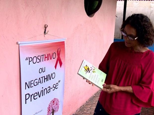 Após doença, Janette virou escritora e ativista (Foto: Reprodução/ TV Gazeta)