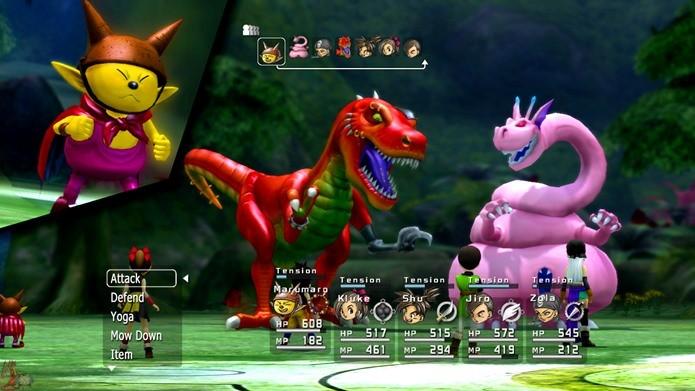Blue Dragon é a união de mentes criativas dos RPGs japoneses (Foto: Divulgação)