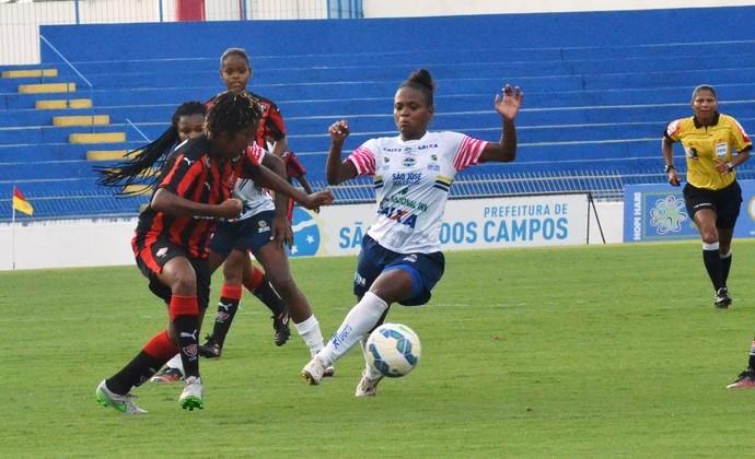 São José futebol feminino x Vitória futebol feminino (Foto: Tião Martins/PMSJC)