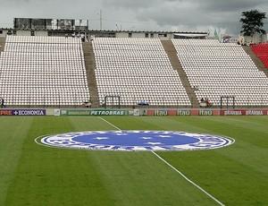 estádio da Arena do Jacaré para Cruzerio x Atlético-MG (Foto: Marco Antônio Astoni / Globoesporte.com)
