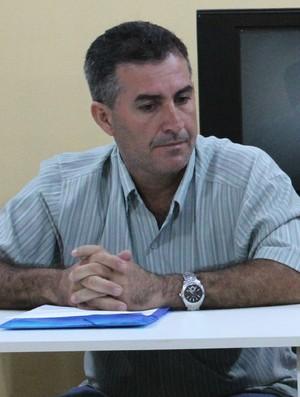 Atual presidente do Penarol, Daniel Macedo (Foto: Adeilson Albuquerque/GLOBOESPORTE.COM)