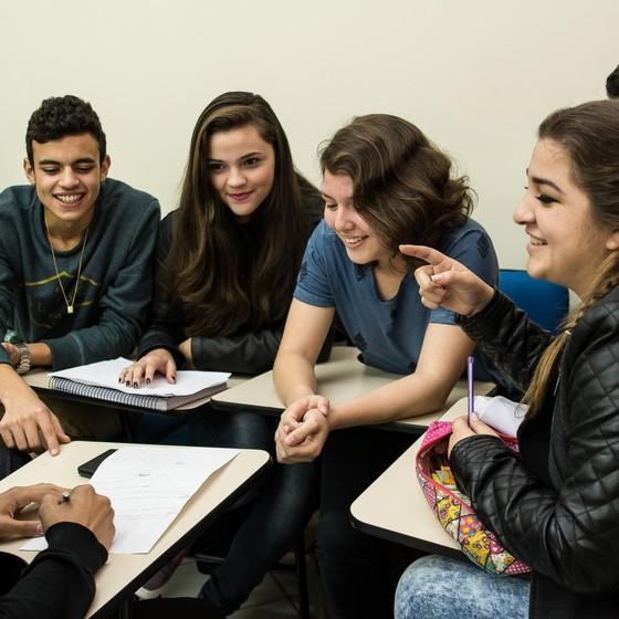 Alunos do Programa Aprendiz Legal em Porto Alegre (Foto: Divulgação)