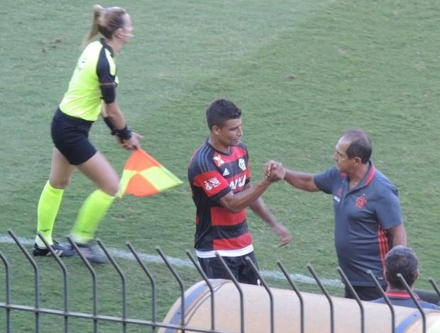 Ederson e Muricy Ramalho Flamengo x Bangu