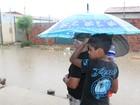 No Sertão, doenças podem surgir com contato com a água da chuva