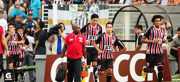 Ganso do São Paulo no clássico contra o Santos (Foto: Marcos Ribolli / Globoesporte.com)