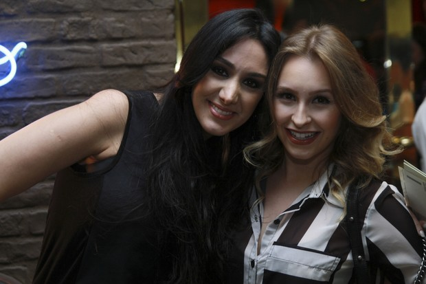 Marina Elali e Carla Diaz (Foto: Anderson Barros/EGO)