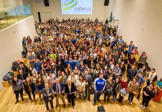 Participantes do programa Ciência sem Fronteiras (Foto: Divulgação)