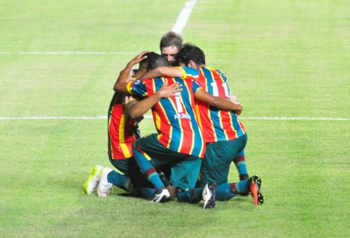 Sampaio ficou três rodadas sem perder na Série B pela primeira vez (Foto: Biamam Prado / Jornal O Estado)