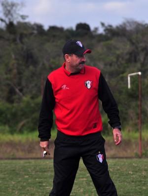 Treinador do Joinville, Leandro Campos (Foto: Divulgação / JEC)