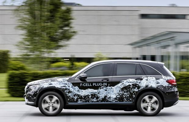 Mercedes-Benz GLC F-Cell (Foto: Divulgação)