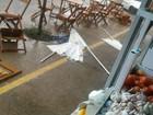 Internauta registra chuva forte na tarde desta sexta-feira em Tatuí, SP