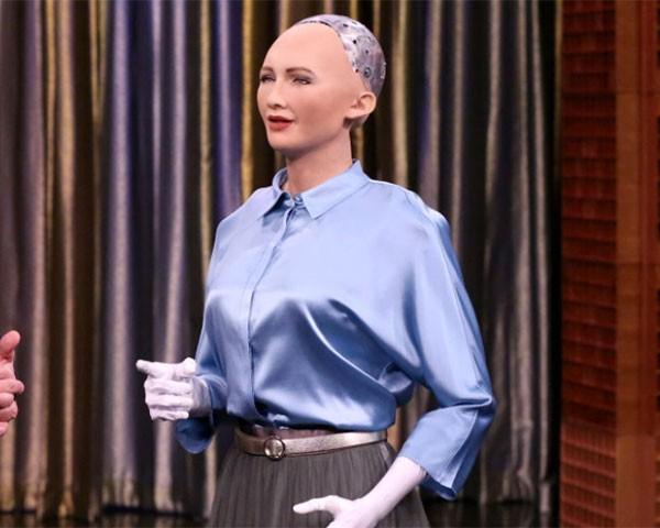 Robô Sophia (Foto: Divulgação / Sophia Bot)