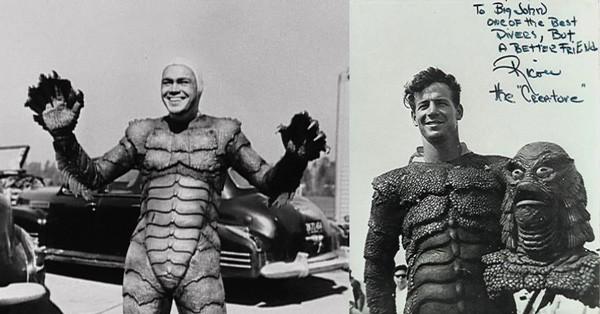 Gill-Man / Ricou Browning e Ben Chapman (O Monstro da Lagoa Negra) (Foto: .)