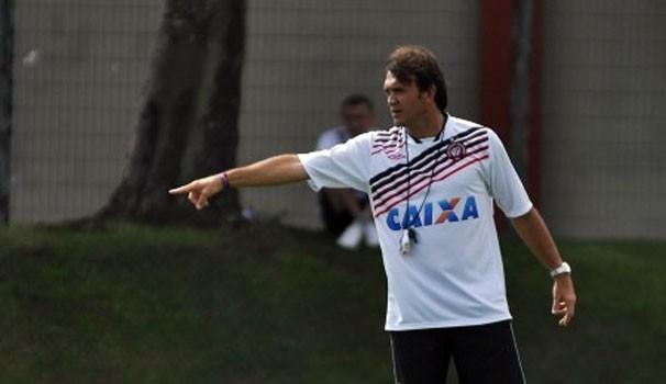 Globo Esporte Petkovic (Foto: Bruno Baggio/ Site oficial do Atlético-PR)