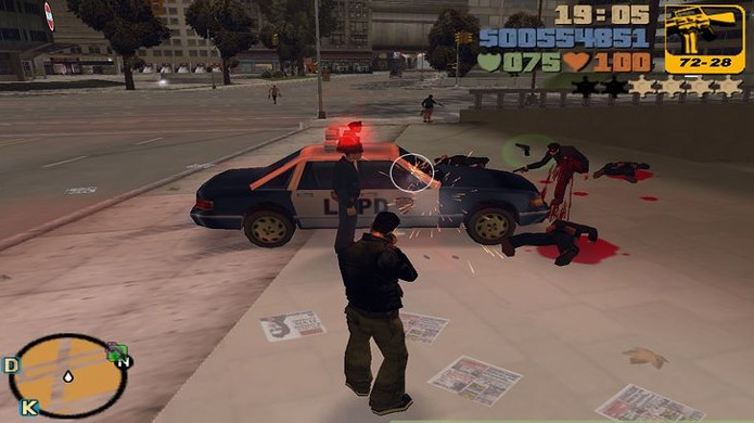 GTA 3 lidou com mais polêmica que os outros GTAs por sua violência em 3D ser considerada mais explícita (Foto: Reprodução/WikiHow)