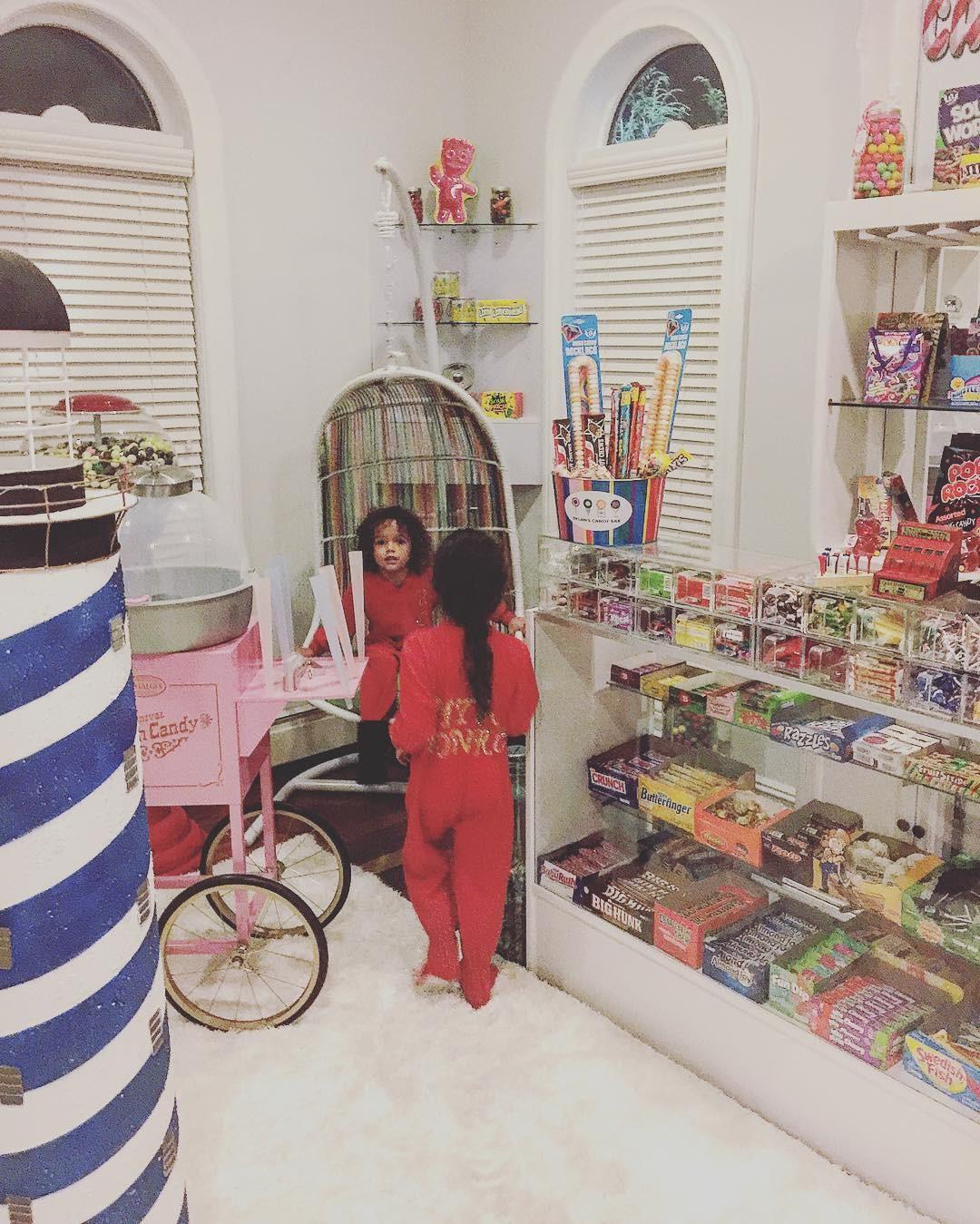 O quarto de doces dos gêmeos Moroccan e Monroe (Foto: Reprodução)