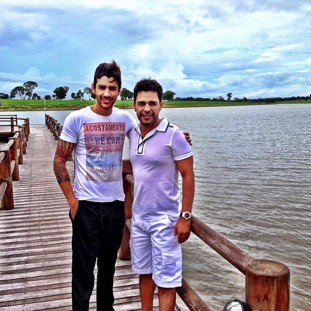 Zezé e Gusttavo Lima (Foto: Reprodução/Instagram)