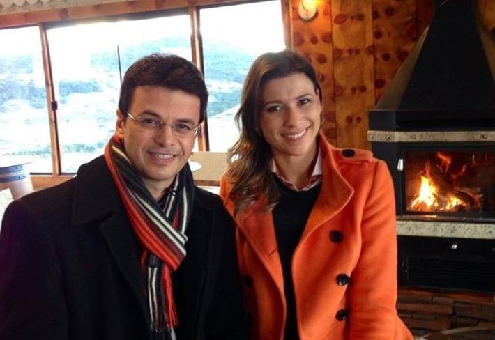 Camille Reis e Pedro Paulo  (Foto: Divulgação)